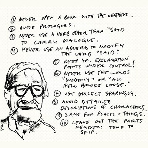 The FJP — Writing Tips by Henry Miller, Elmore Leonard,...