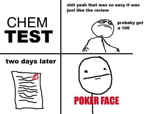 chem exam on Tumblr