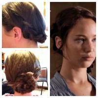 katniss hair on Tumblr