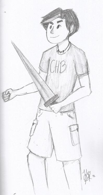 percy jackson fan art on Tumblr