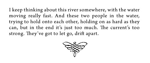 from Never Let Me Go by Kazuo Ishiguro