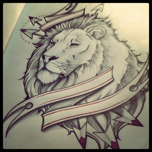 Easy To Draw Lion Tattoo Imgurl