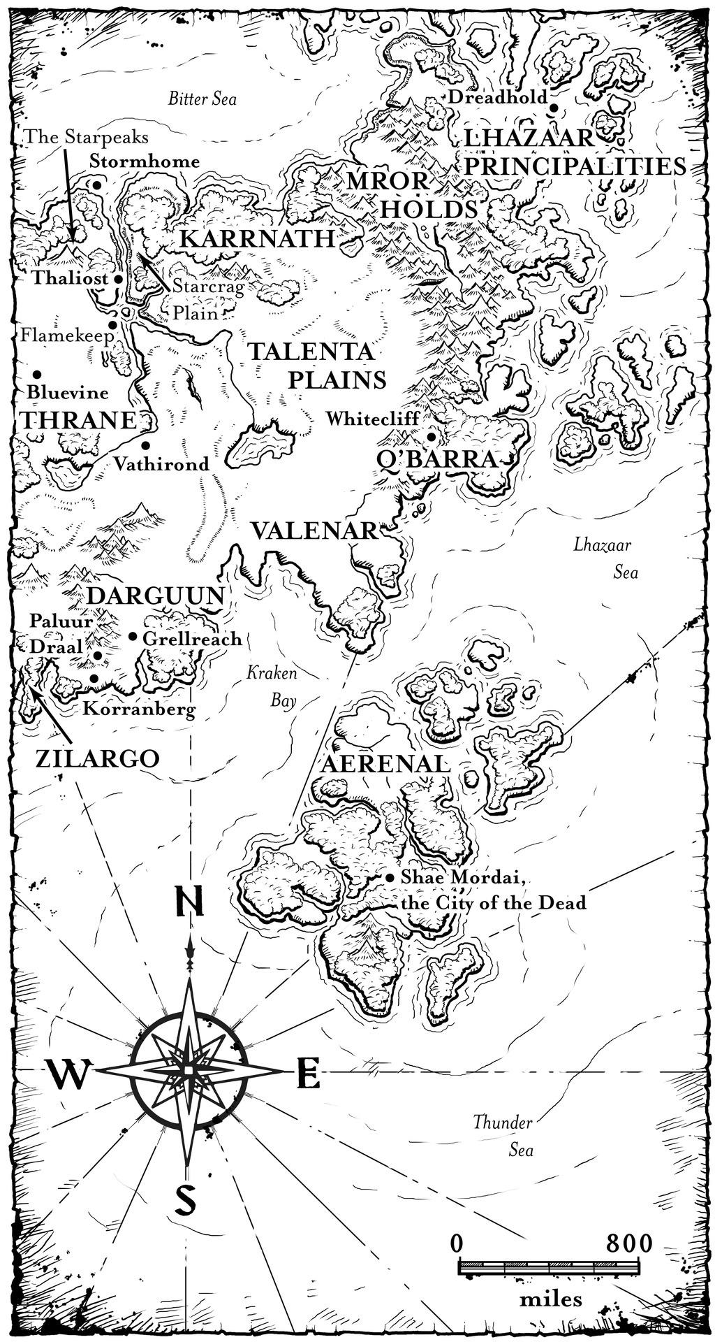 Dragons Dogma Bitterblack Isle Map