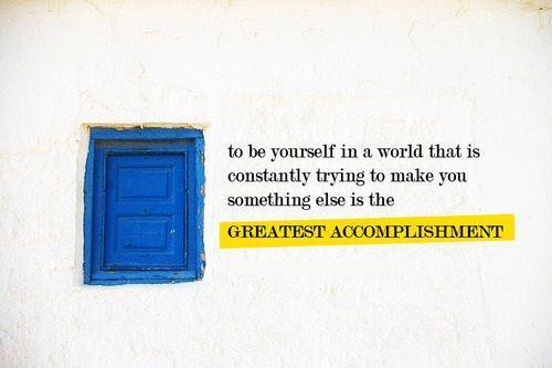 The greatest accomplishment. :D