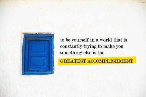The greatest accomplishment. :D