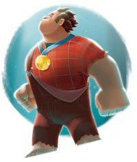 Animation Tidbits  Wreck-It Ralph - Concept & Tie-In Art