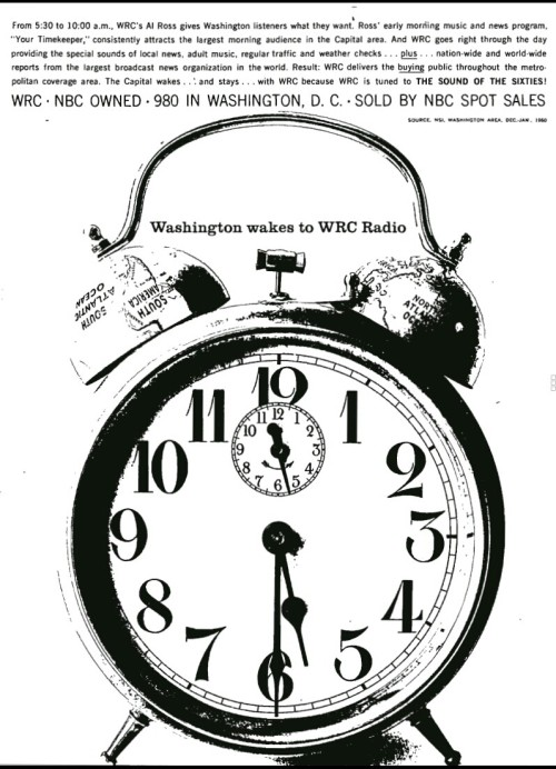 Faded Signals — WRC signed on in 1923 as RCA's Washington