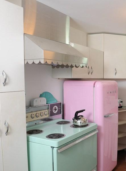 cute retro kitchen cute omg vintage Home dream want 50s retro house need