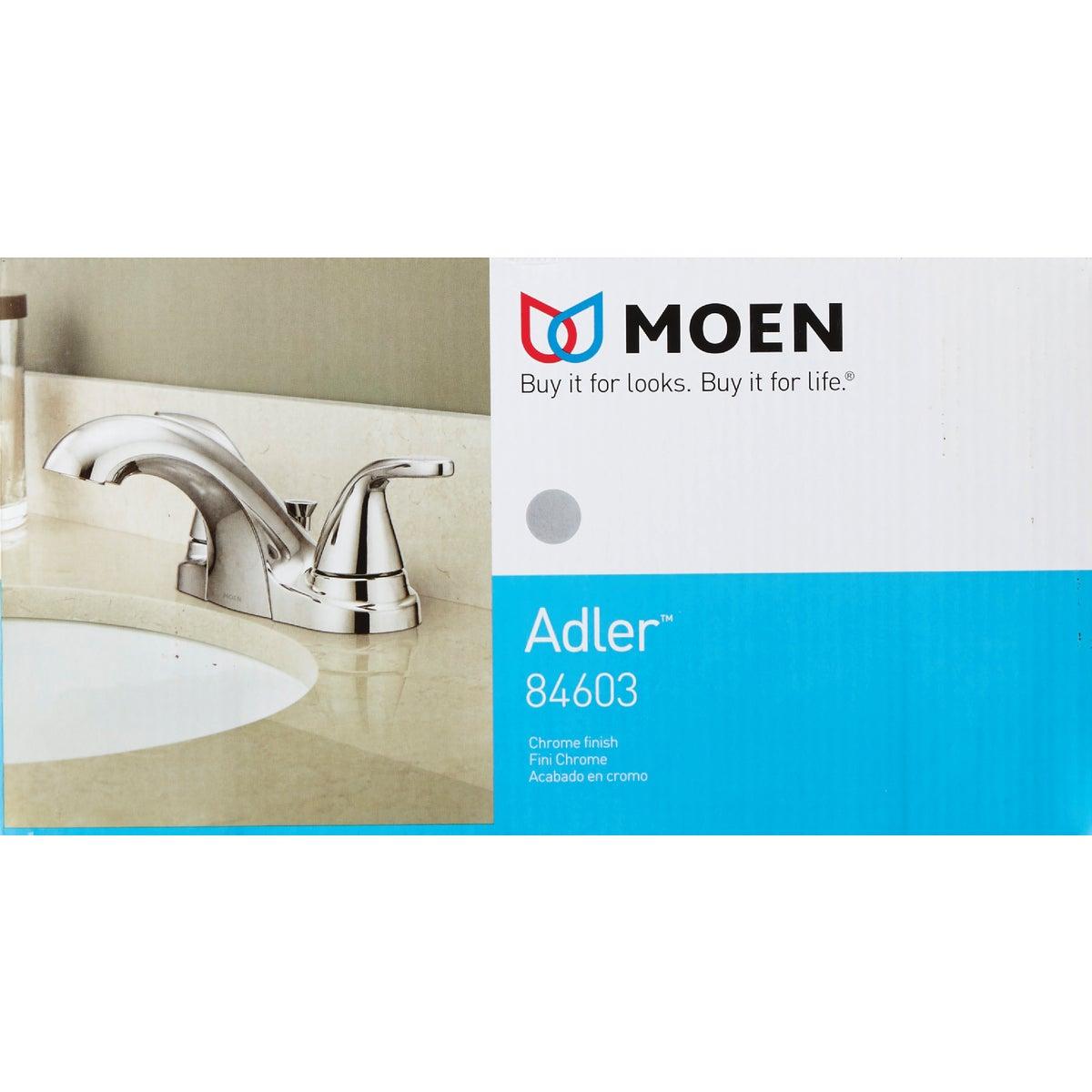 moen adler chrome 2 handle lever4 in