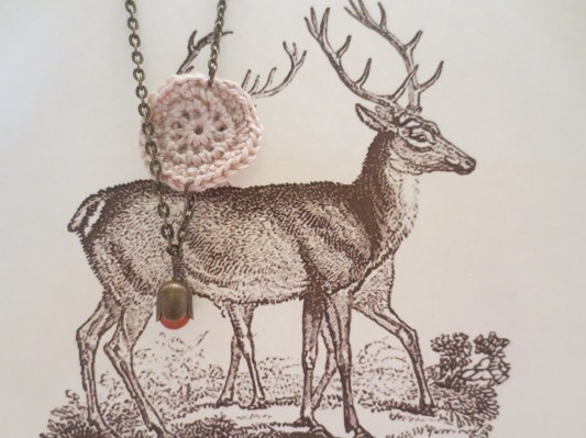 Look at these regal fellow. What do deer have to do with necklaces you say? Nothing! Nothing at all! It`s just fun to play with props!