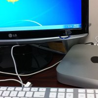Windows 7 on Mac mini.