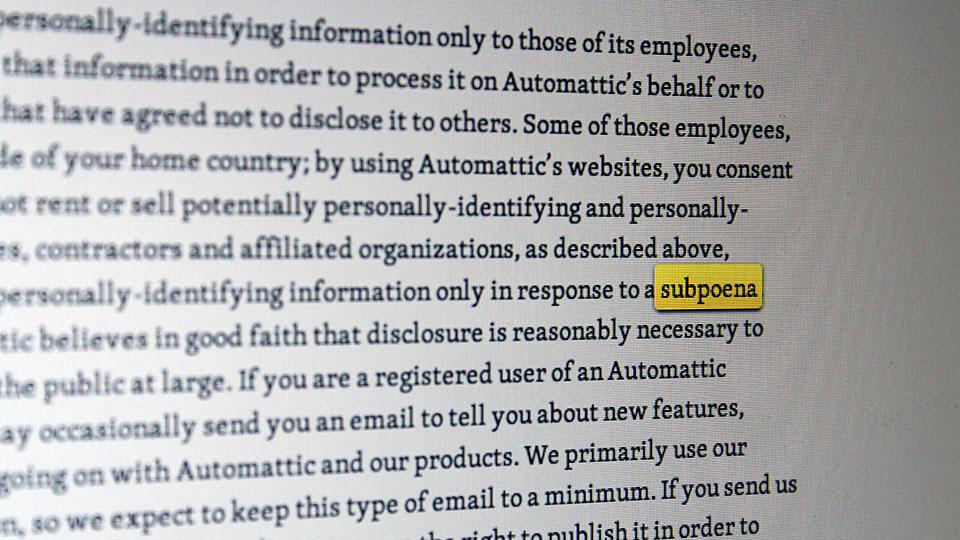 Automattic-Privacy-Subpoena