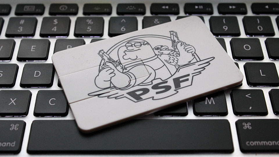 Peter and Sidecar Falcon USB Card 1