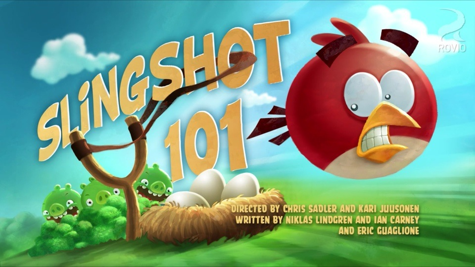 Angry Birds Toons Slingshot 101