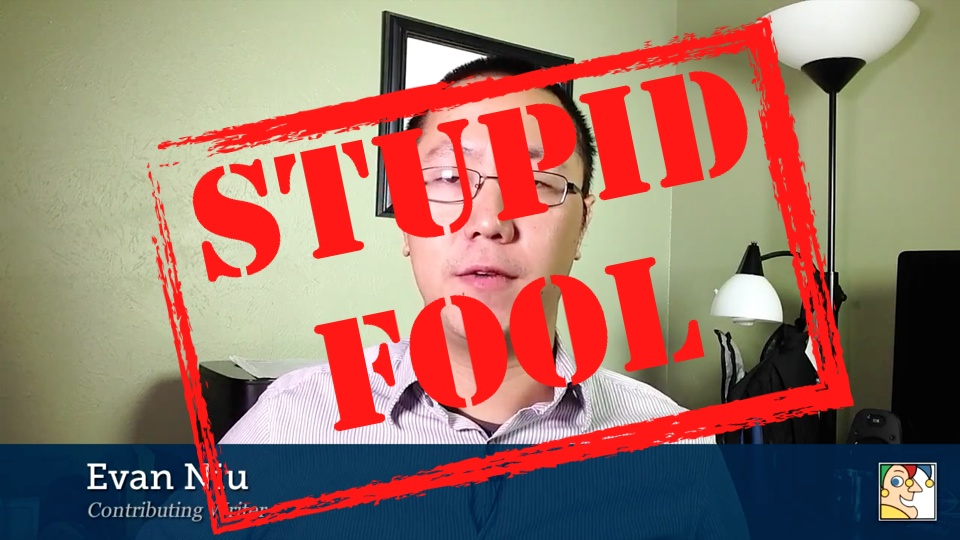 Evan Niu is a Stupid Fool