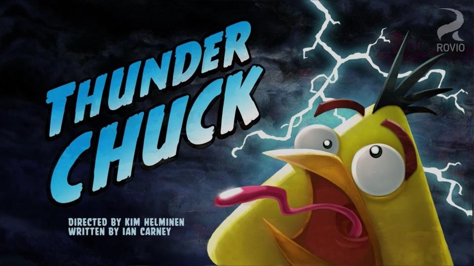 Angry Birds Toons Thunder Chuck