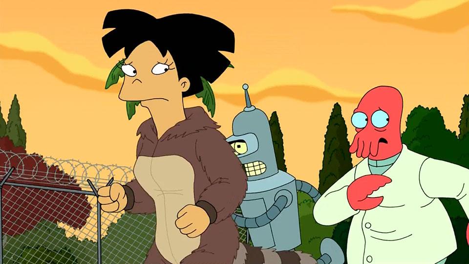 Futurama-Fry-and-Leela's-Big-Fling