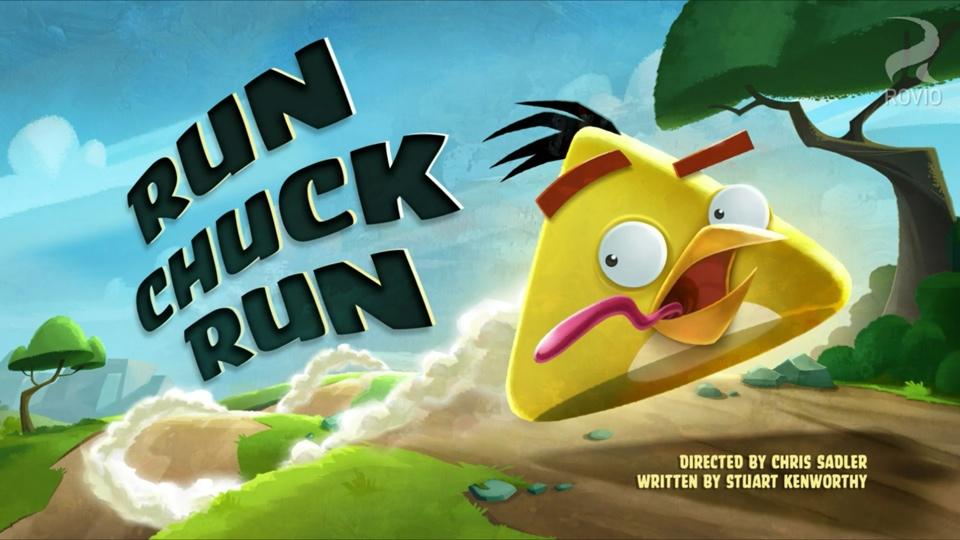Angry Birds Toons Run Chuck Run