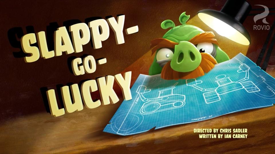 Angry Birds Toons Slappy-Go-Lucky
