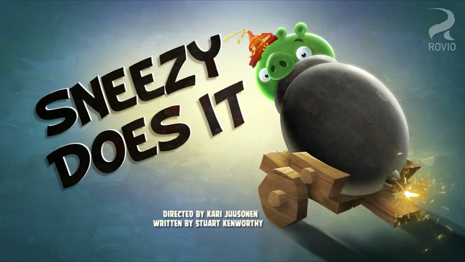Angry Birds Toons Sneezy Does It