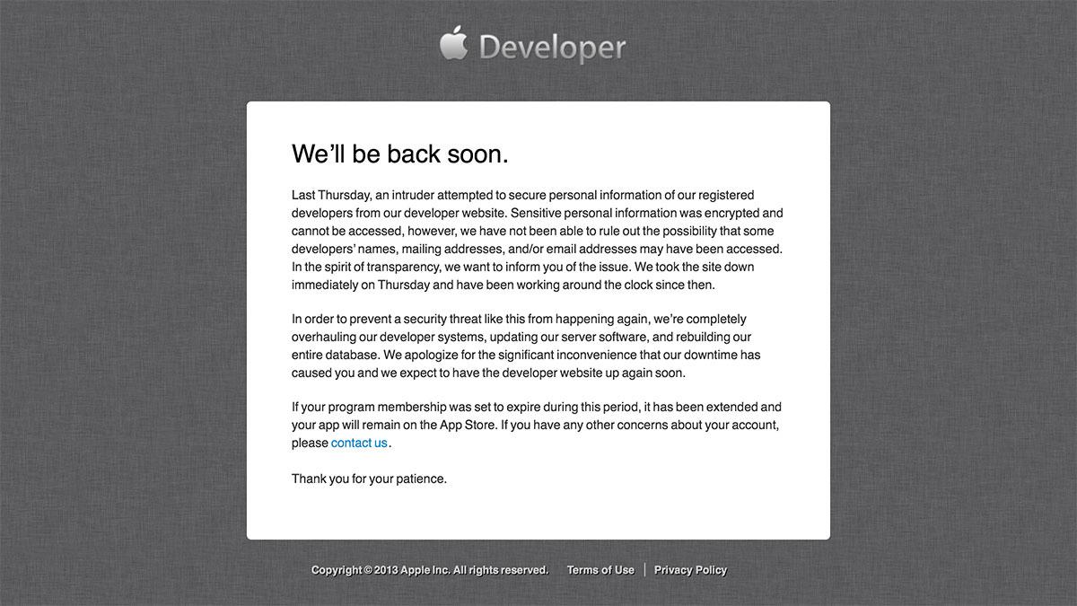 Apple-Developer-Center-Message-20130721