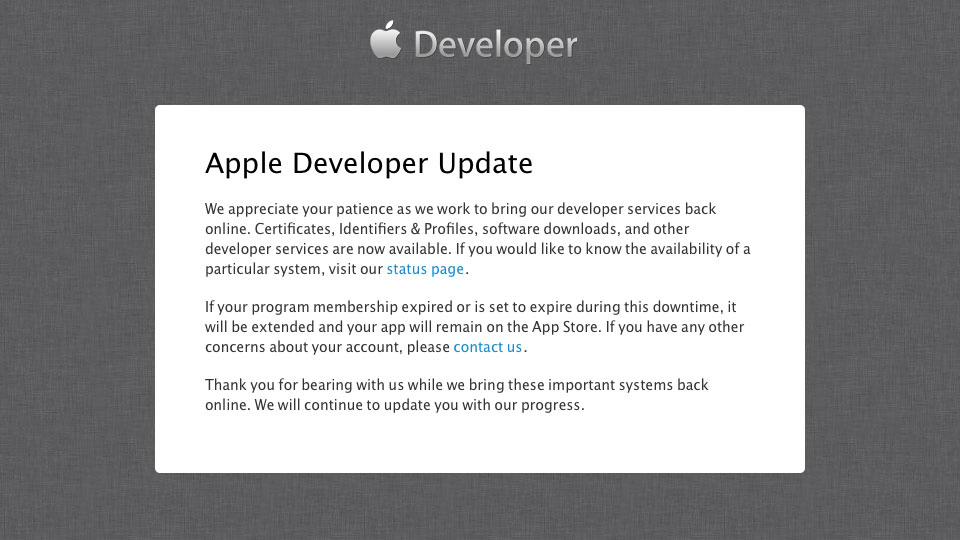 Apple-Developer-Center-Message-20130726