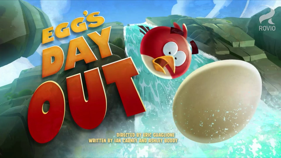 Angry Birds Toons Egg's Day Out