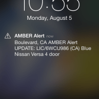 Amber Alert on Android and iPhone