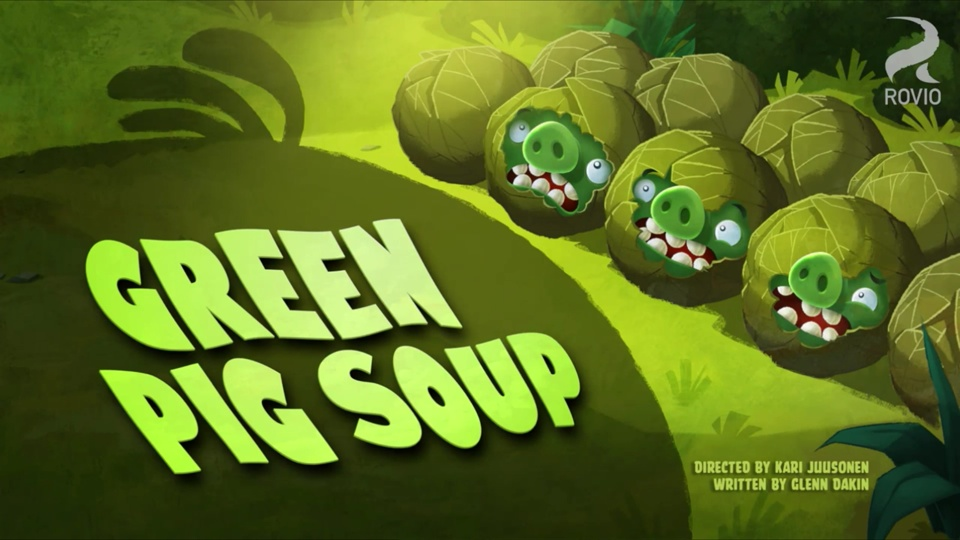 Angry Birds Toons Green Pig Soup