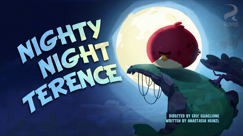 Angry Birds Toons Nighty Nite Terence