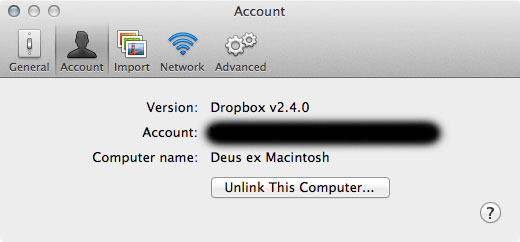 how to change dropbox to public