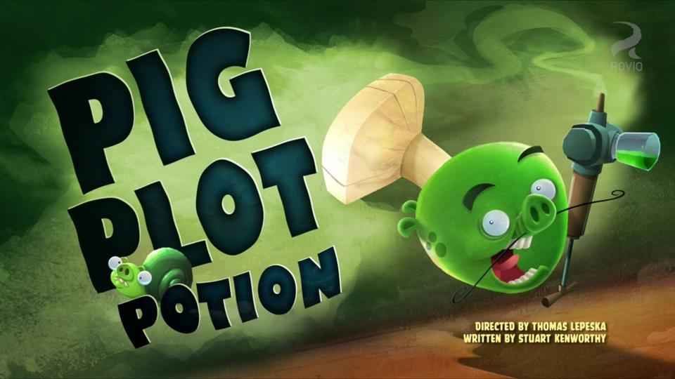 Angry Birds Toons Pig Plot Potion