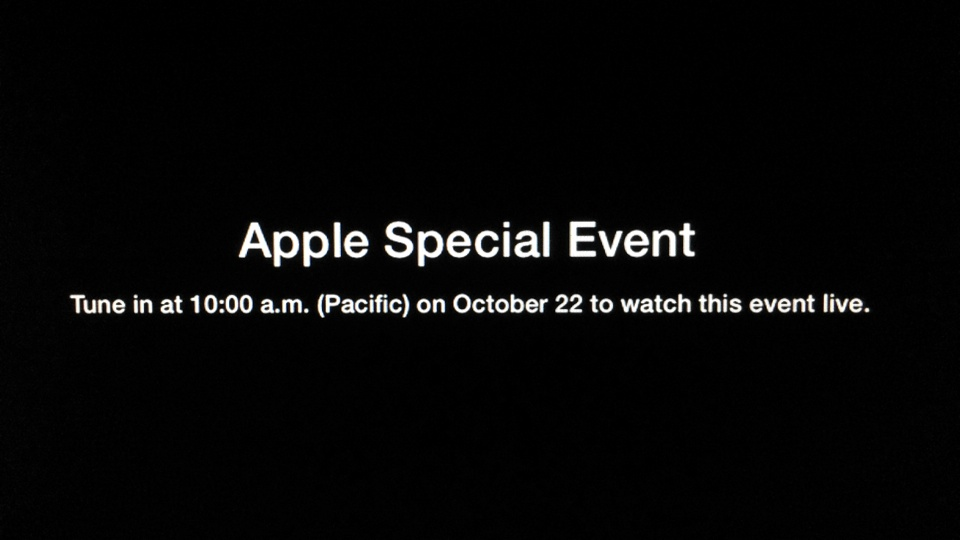 Apple Special Event October 2013 Tune In