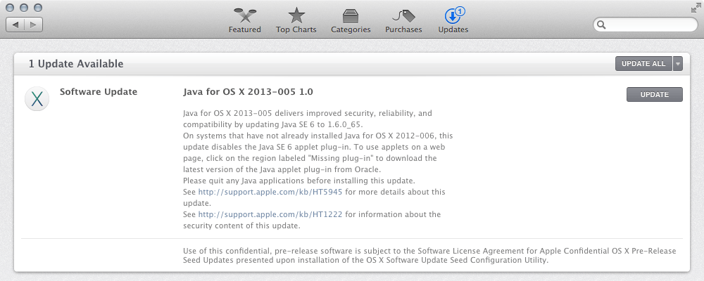 Java for OS X 2013-005 1.0