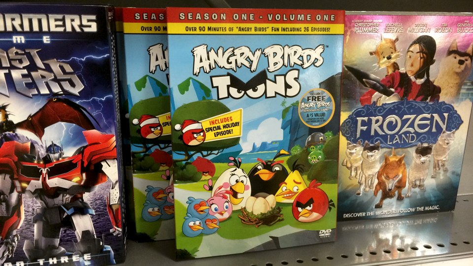 Angry Birds Toons Season 1 DVD