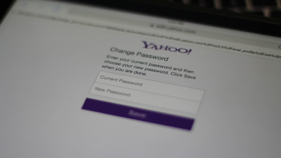 Yahoo Password Reset
