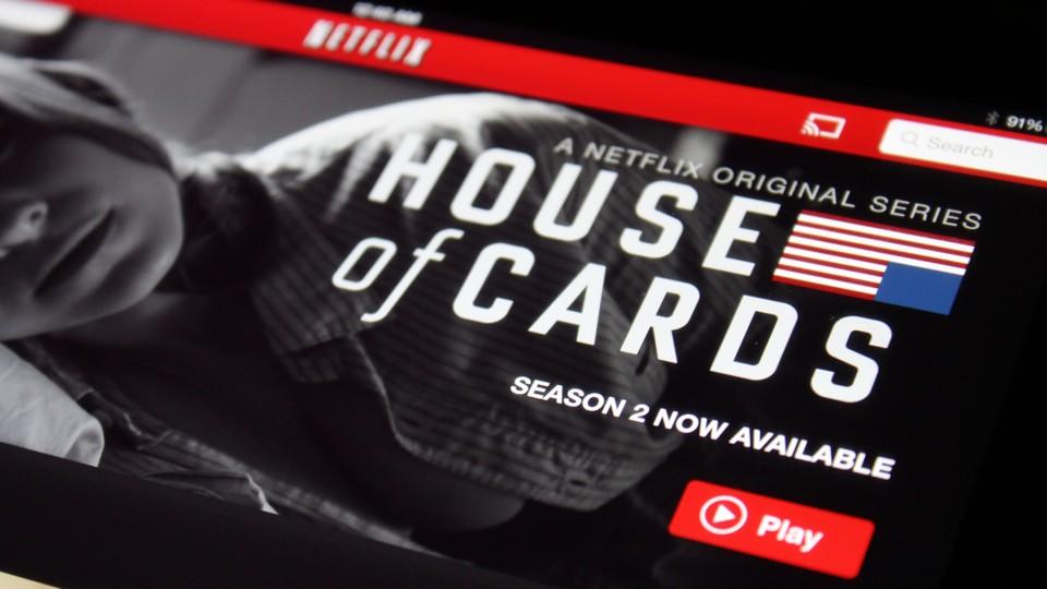 House of Cards Season 2 on Netflix