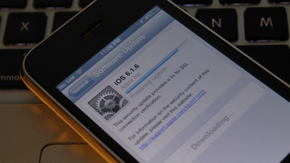 iOS 6.1.6 on iPhone 3GS