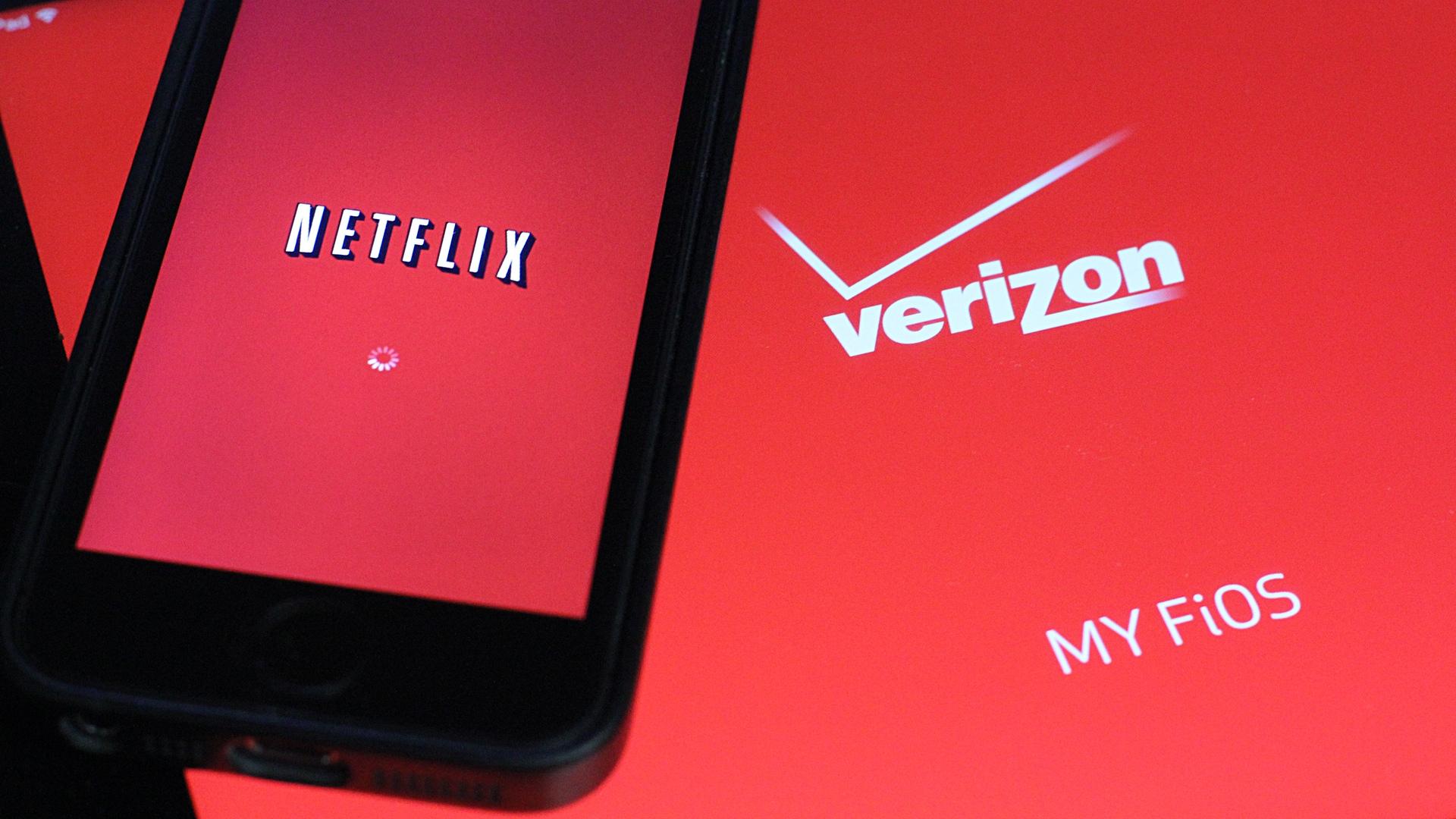 Netflix and Verizon