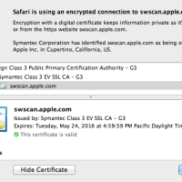 Apple Software Update Server Certificate Expired