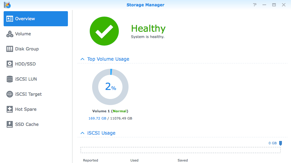 Synology DS412+ Storage