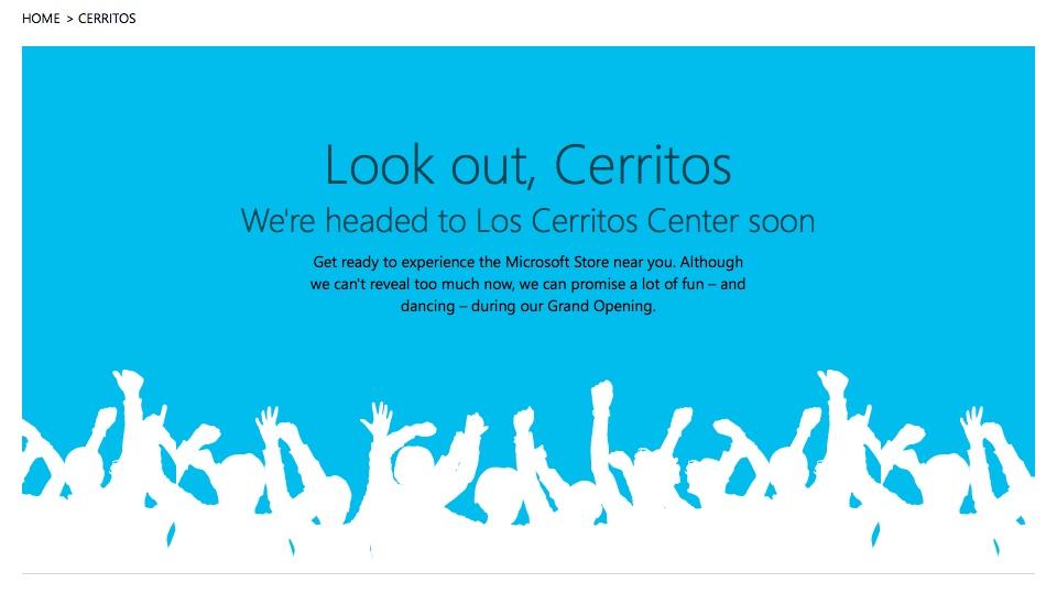 Microsoft Store Los Cerritos California
