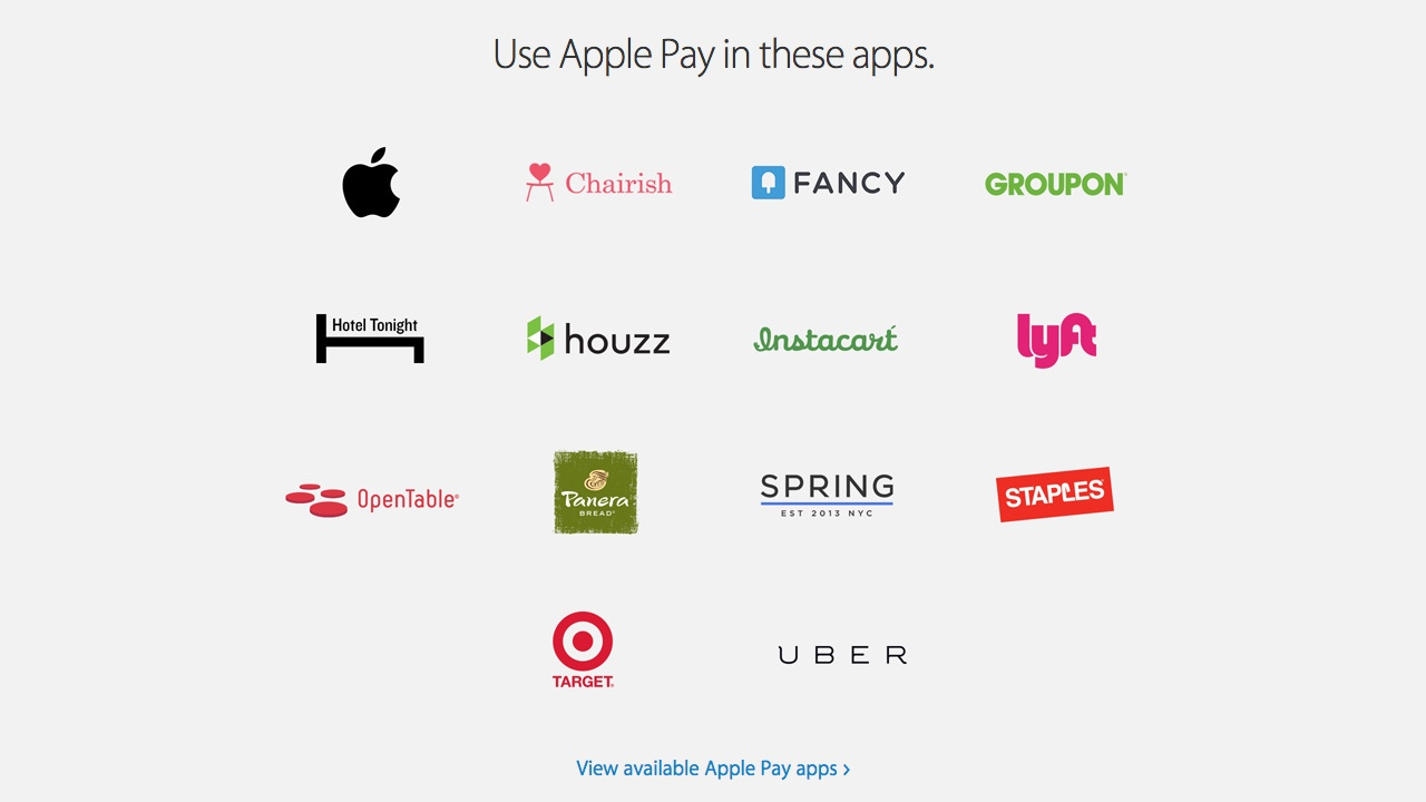 Apple Pay Apps