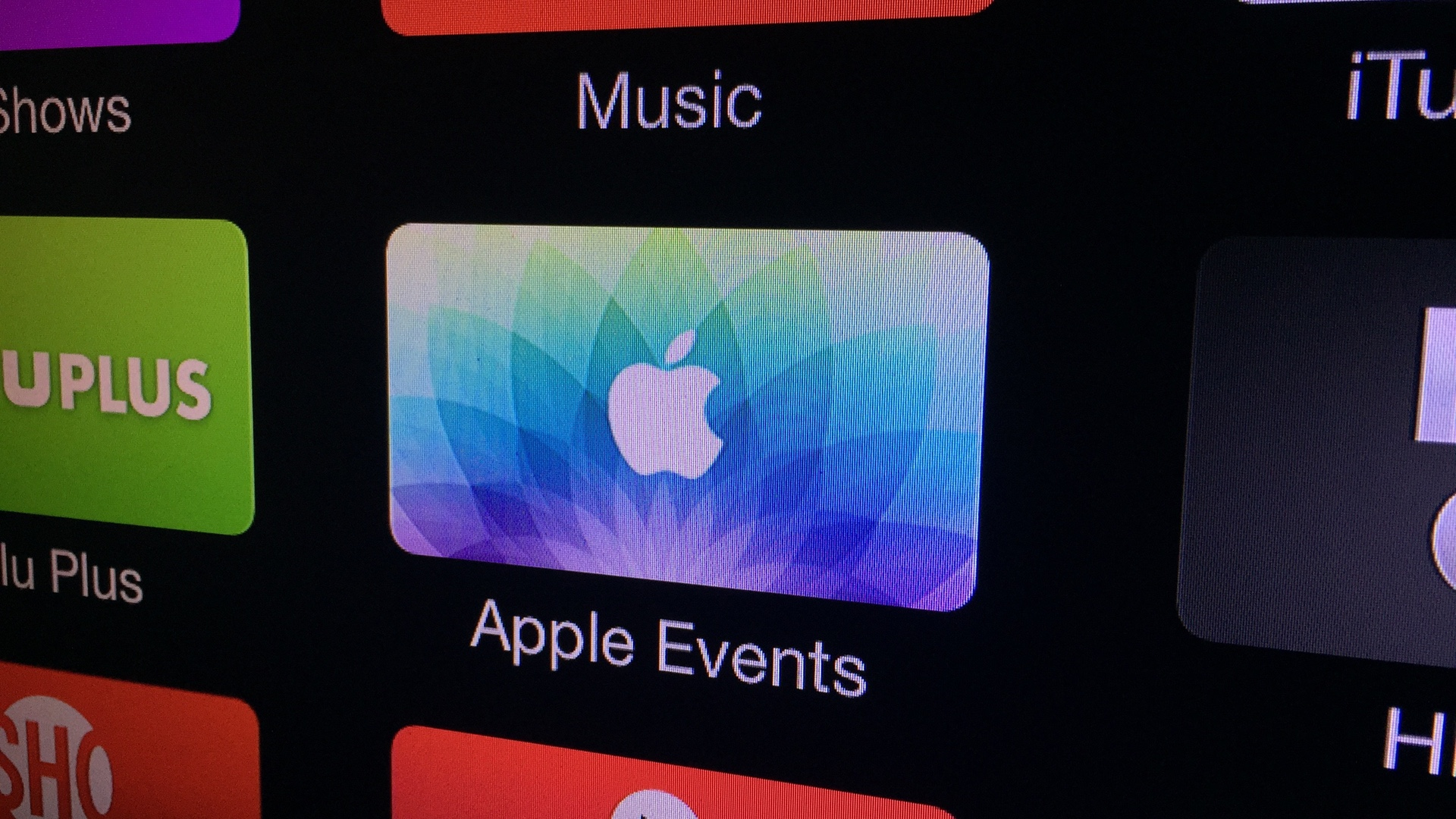 Apple Events March 09 2015 Apple TV