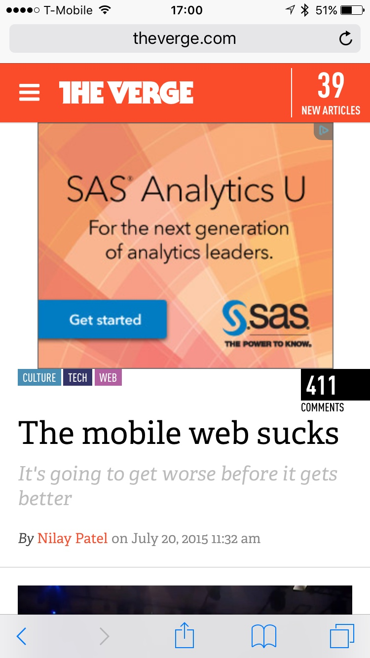 The Verge Mobile Web Sucks (Portrait)