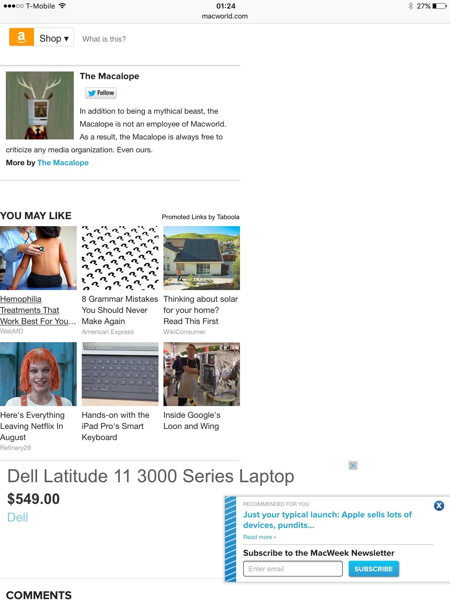 Macworld Ad-infested