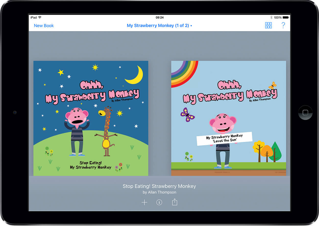 Apple Employee Self Publishes His Books With Book Creator