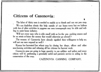 Cazenovia Republican June 27th, 1918