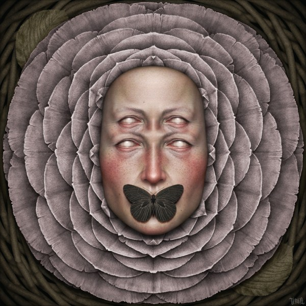Illustration Art Painting Show Portrait Skull Morbid