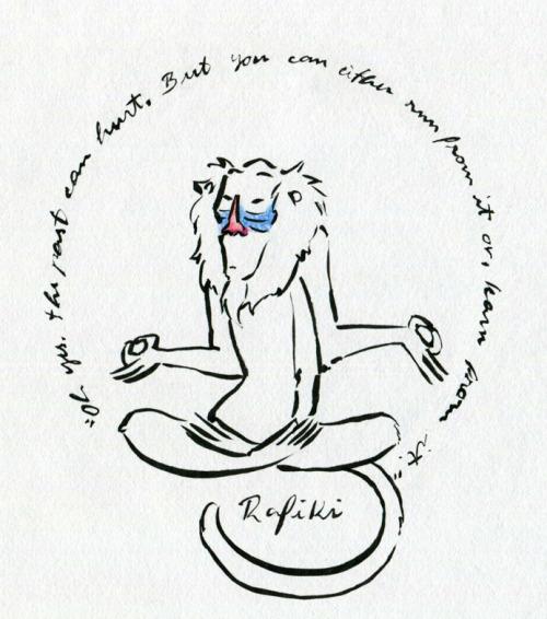 Tattoo Lion King Quotes Rafiki. QuotesGram